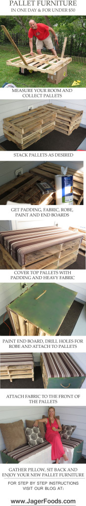 Making Pallet Furniture