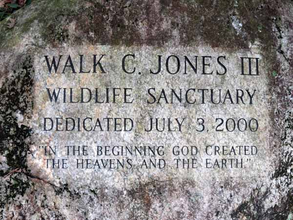 Walk C Jones Wildlife Santuary